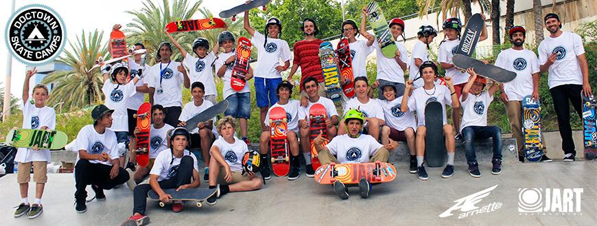 Doctown Skate Camp| Campamentos de verano 100% Skate!