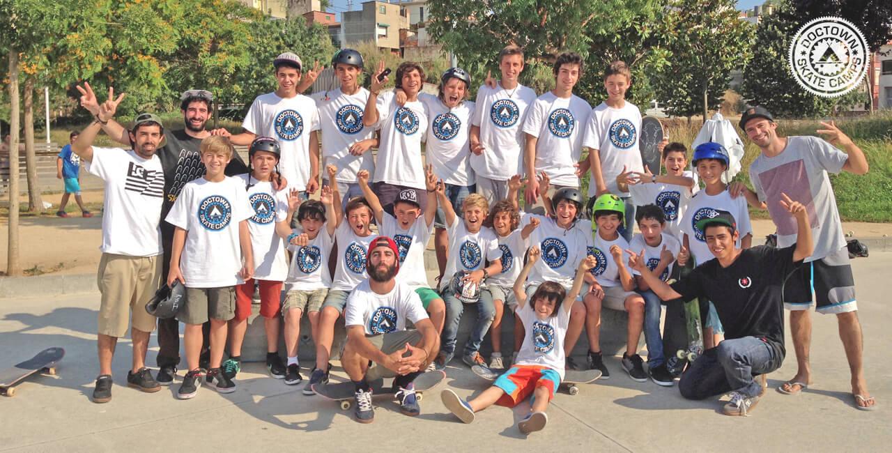 Doctown Skate Camp | Campamentos de verano 100% Skate!