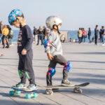 Clases de skate promocionales en Boardriders Barceloneta